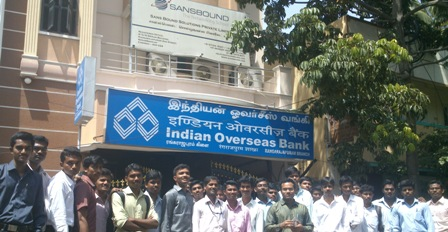 Industrial Visit to Sansbound Pvt.Ltd.