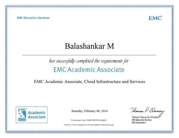 18 Faculty Members Has Been Certified as EMC Academic Associate in ...