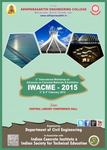 International Workshop in Advances on Concrete Materials and Exhibition